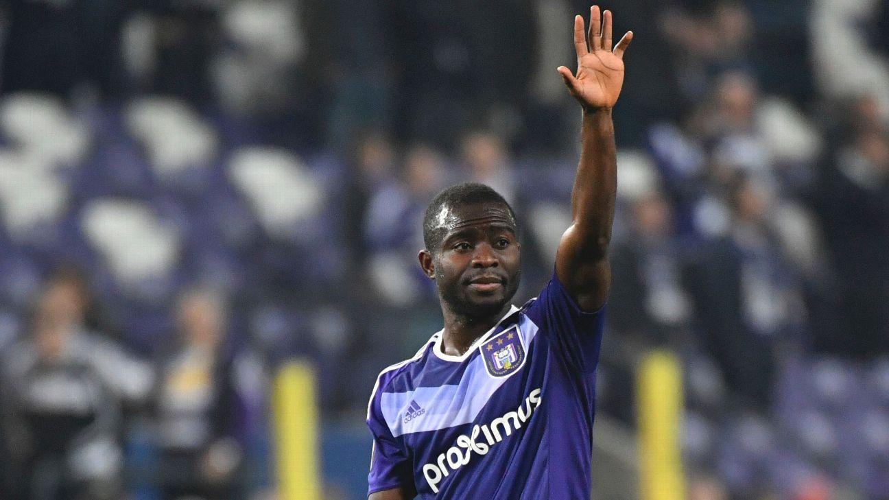 Frank Acheampong of Anderlecht
