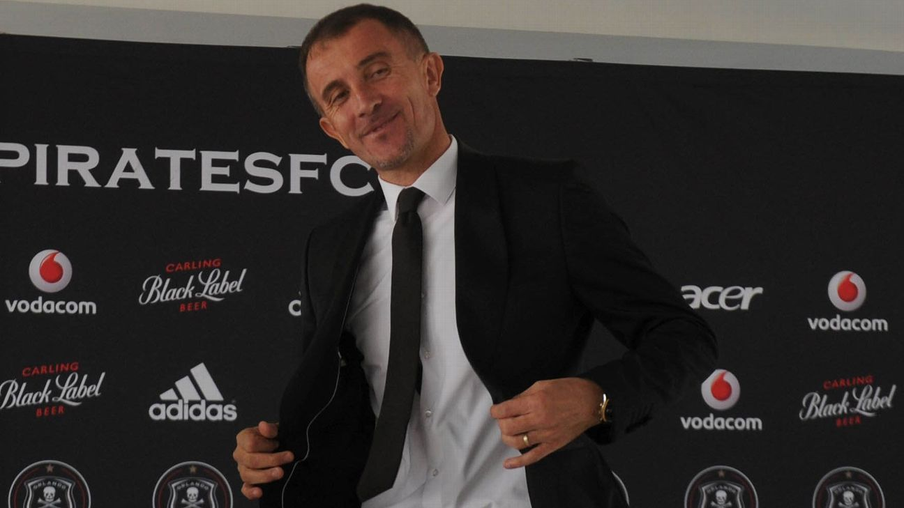 Milutin Sredejovic, Orlando Pirates coach