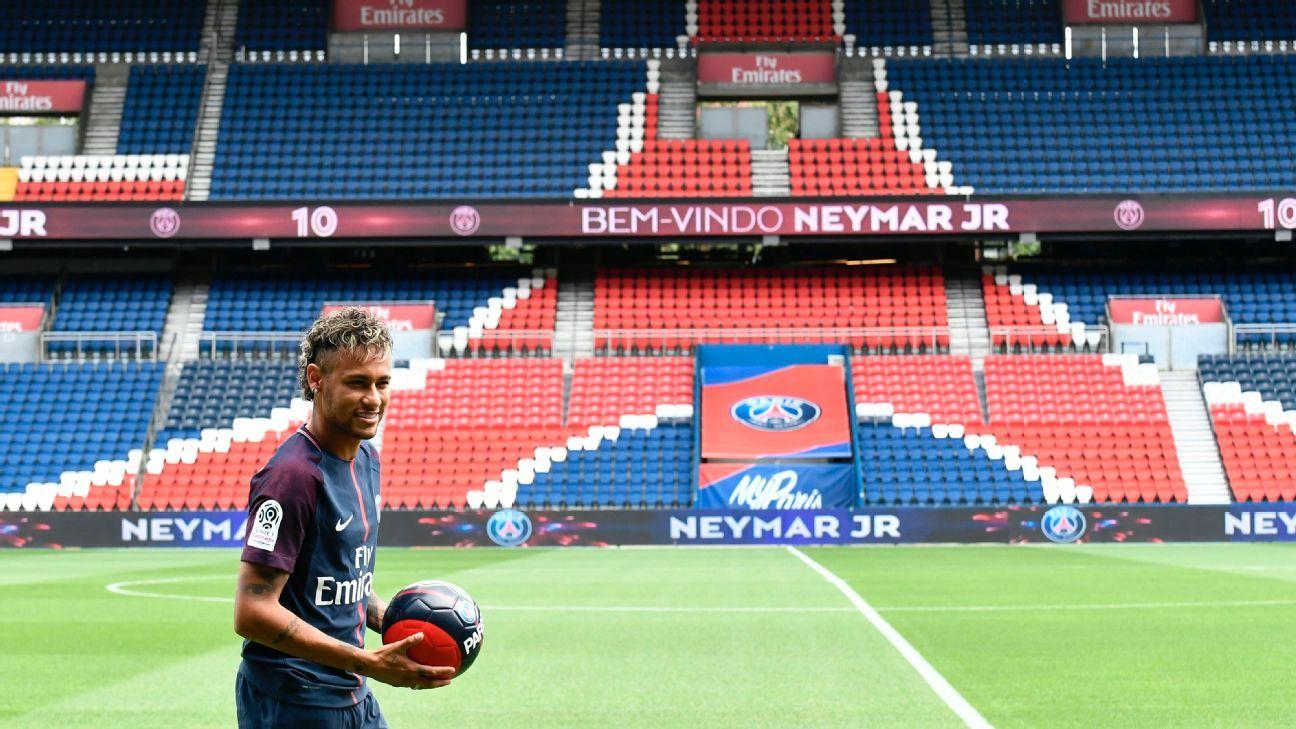PSG's Neymar