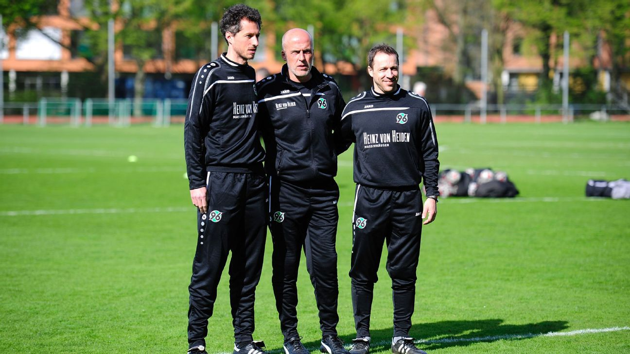 Hannover 96 coaches