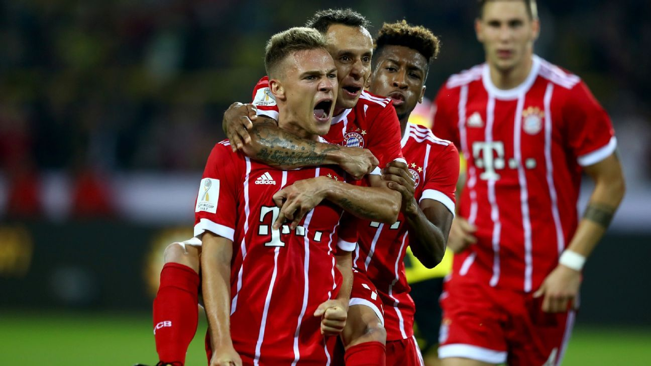 Bayern won their record sixth German Super Cup and second in as many years.