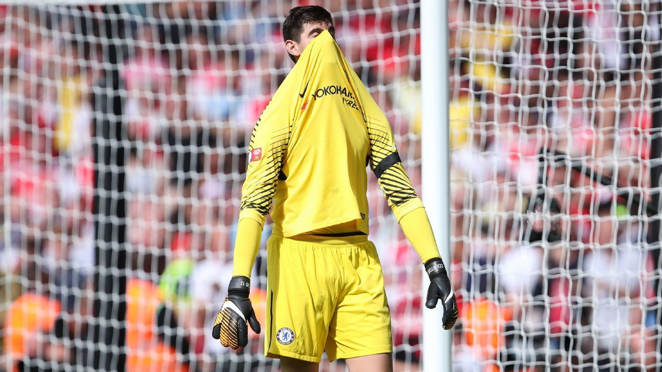 Thibaut Courtois' relationship with Chelsea fans soured amid constant exit rumours.