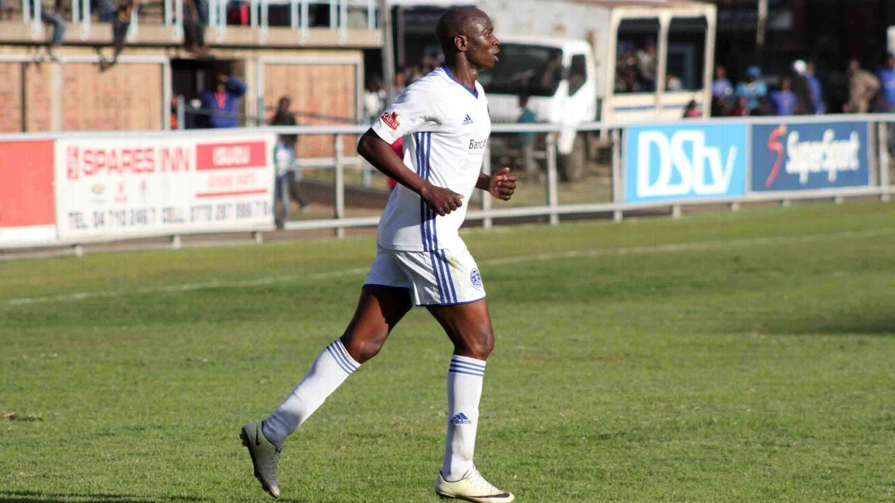 Ocean Mushure takes to the field for Dynamos