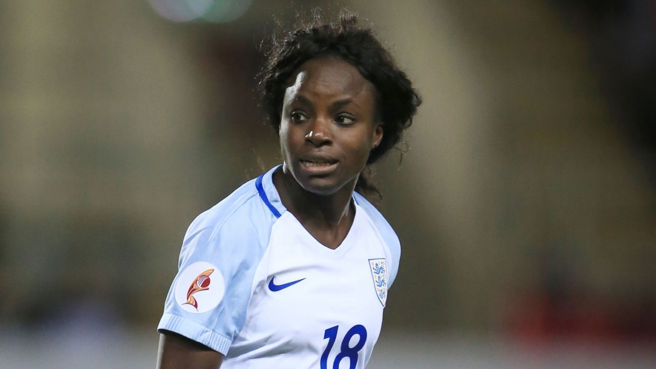 Chelsea and England striker Eni Aluko