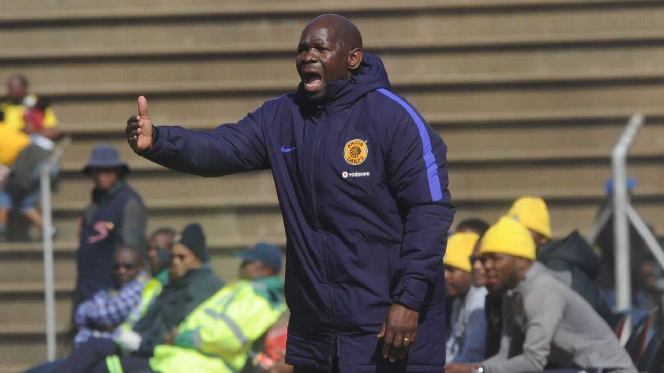Steve Komphela during the 2017 Maize Cup match between Kaizer Chiefs and Township Rollers on the July 15,  2017