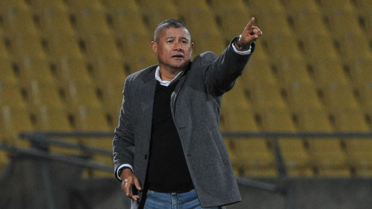 Cavin Johnson during his tenure as Platinum Stars coach