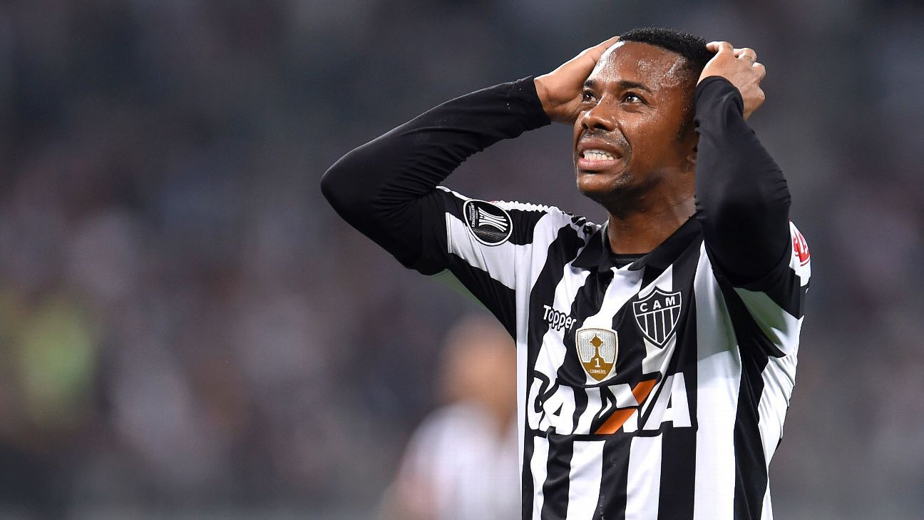 Robinho was among Atletico Mineiro's high-priced talent that was shocked by Bolivia's Wilstermann.