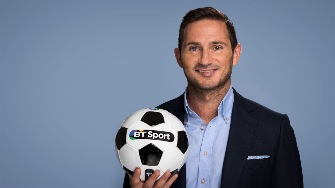Frank Lampard is now a BT Sport pundit.