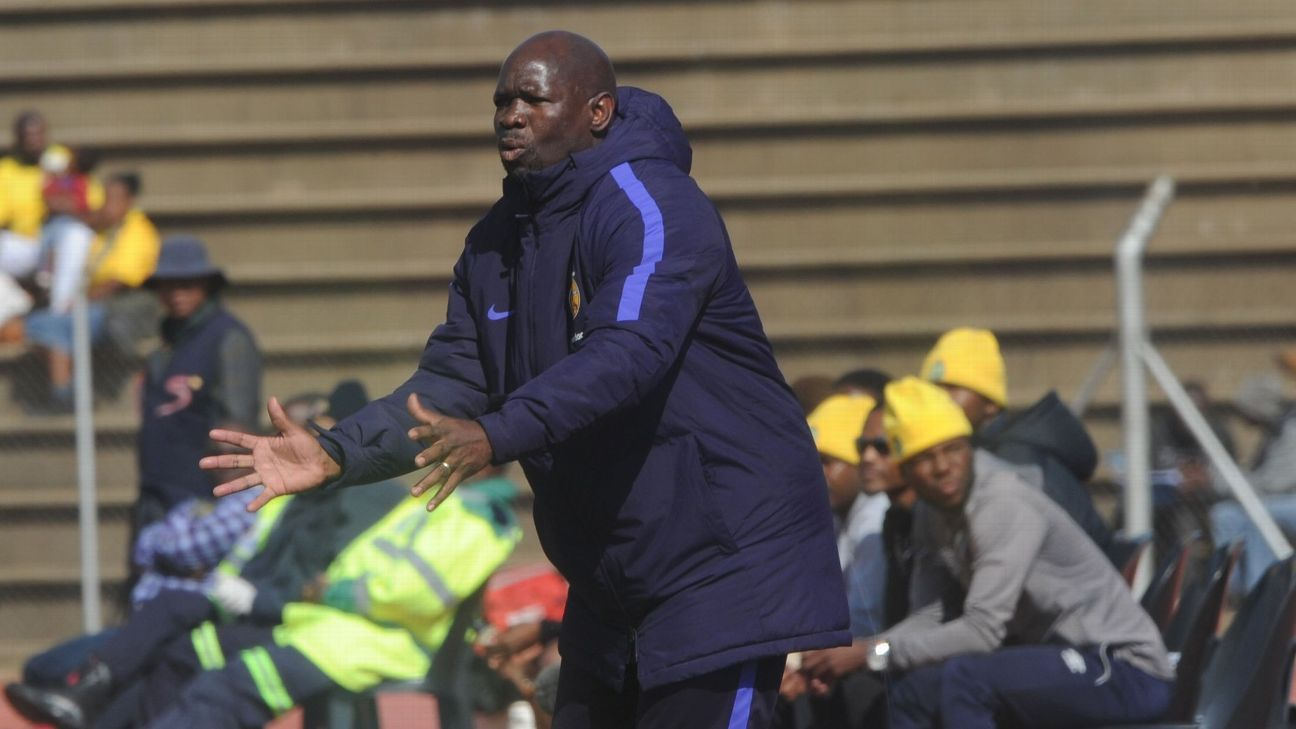 Kaizer Chiefs coach Steve Komphela during the 2017 Maize Cup match between Kaizer Chiefs and Township Rollers