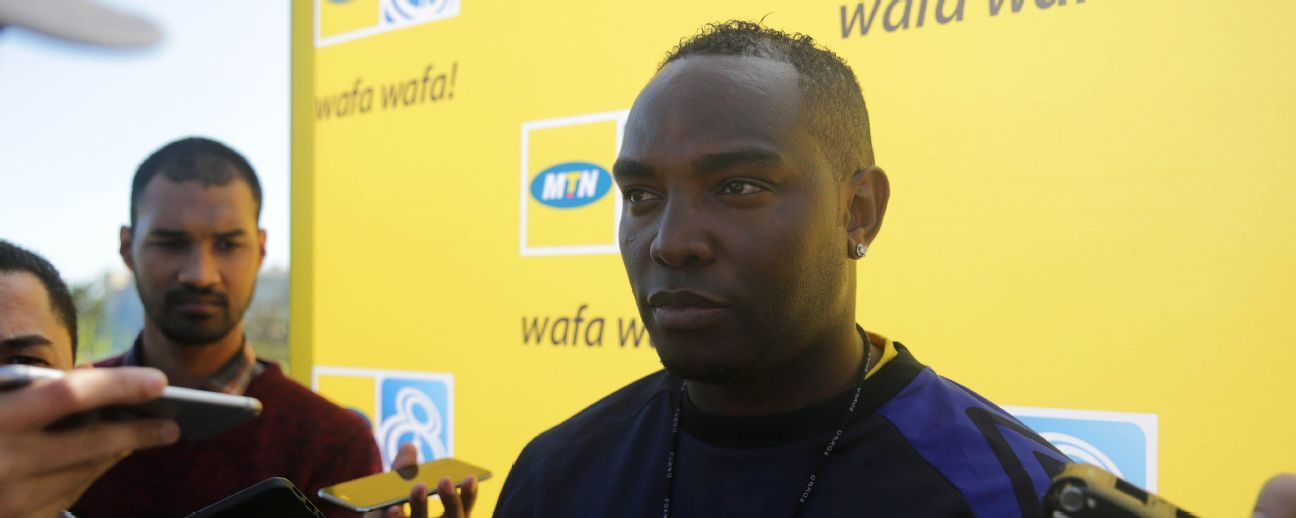 Cape Town City FC coach Benni McCarthy talks to the media during the Cape Town City FC 2017 MTN 8 Media open day