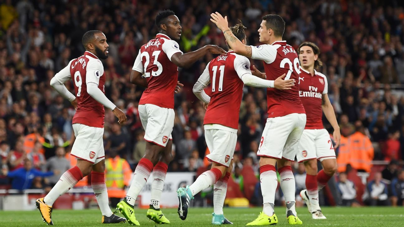 Arsenal opened the season with a wild 4-3 win.