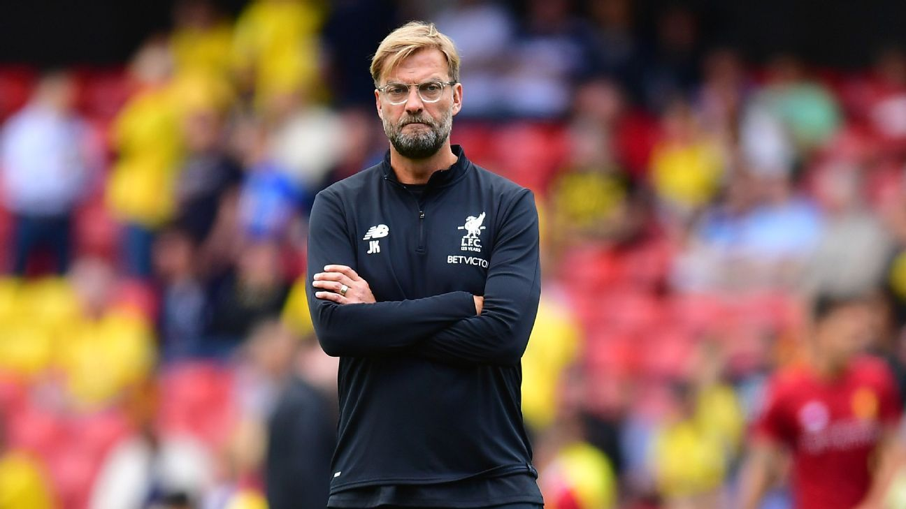 Jurgen Klopp has been tipped for a title challenge at Liverpool.