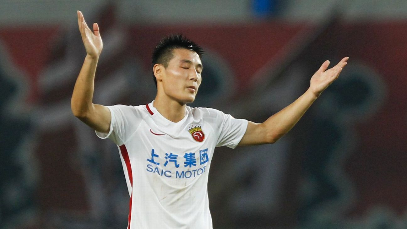 Wu Lei continued his top form with Shanghai SIPG.
