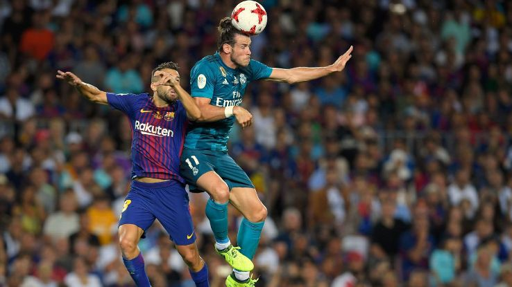 Bale header vs Barca 170813