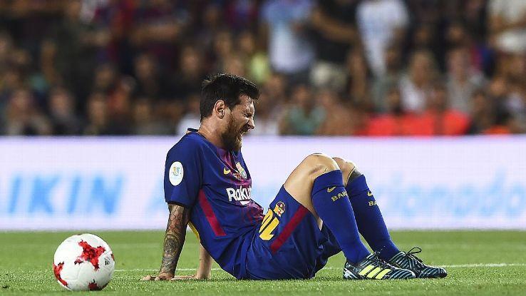 Messi woe vs Real 170813