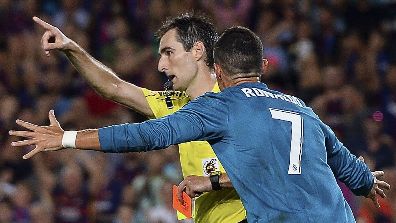 Ronaldo red vs Barca 170813