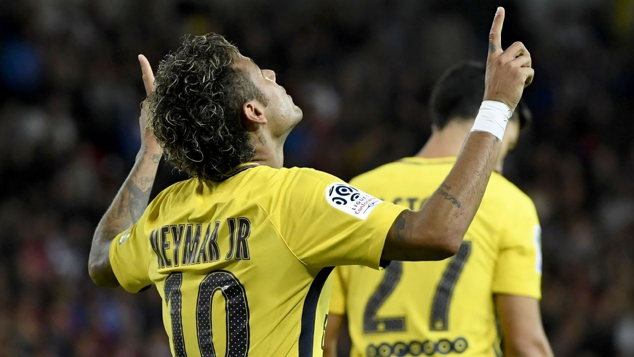 Neymar PSG praise