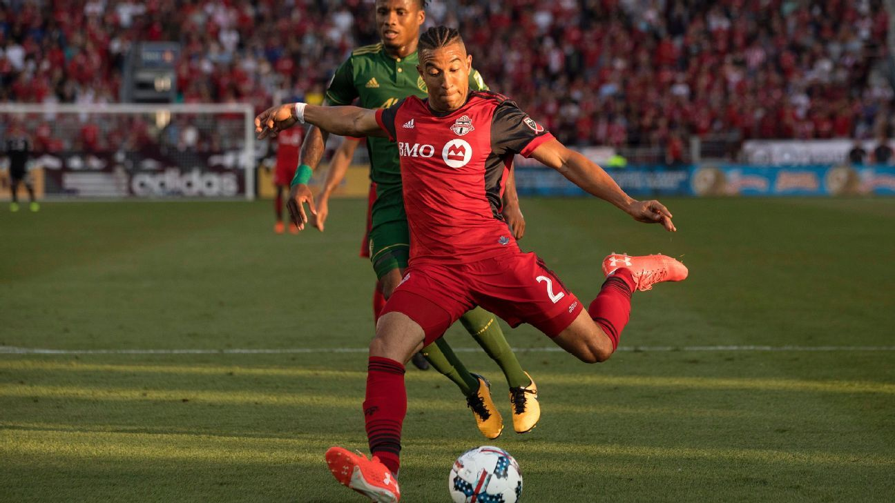 Toronto FC returns to top after rout; Seattle Sounders make a move