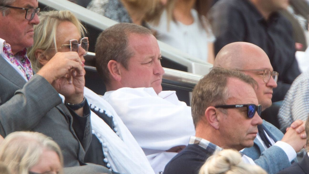 Newcastle Ashley in stands 170813