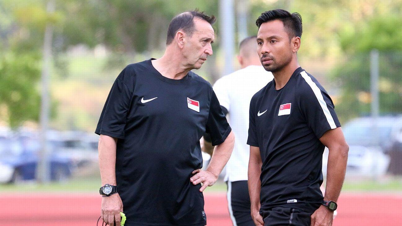 Singapore 2017 SEA Games coach Richard Tardy
