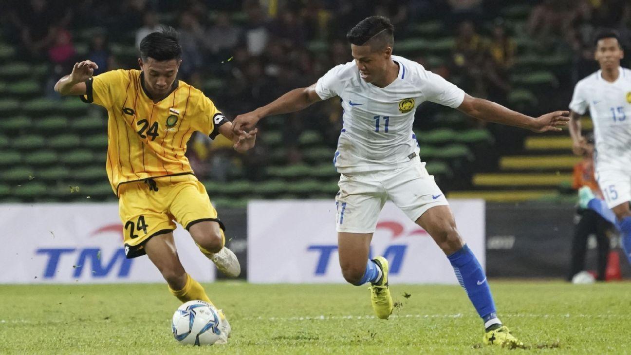 Malaysia's Jafri Firdaus Chew in 2017 SEA Games