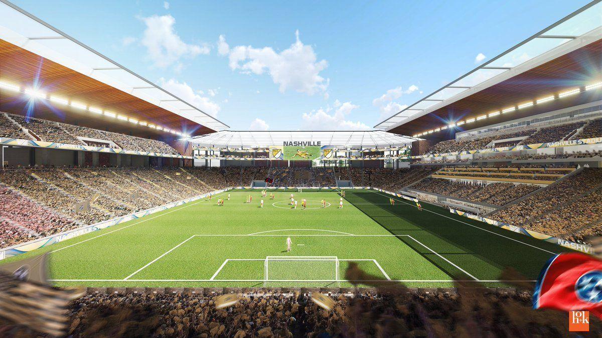 Nashville group unveils plan for 30,000-seat MLS stadium