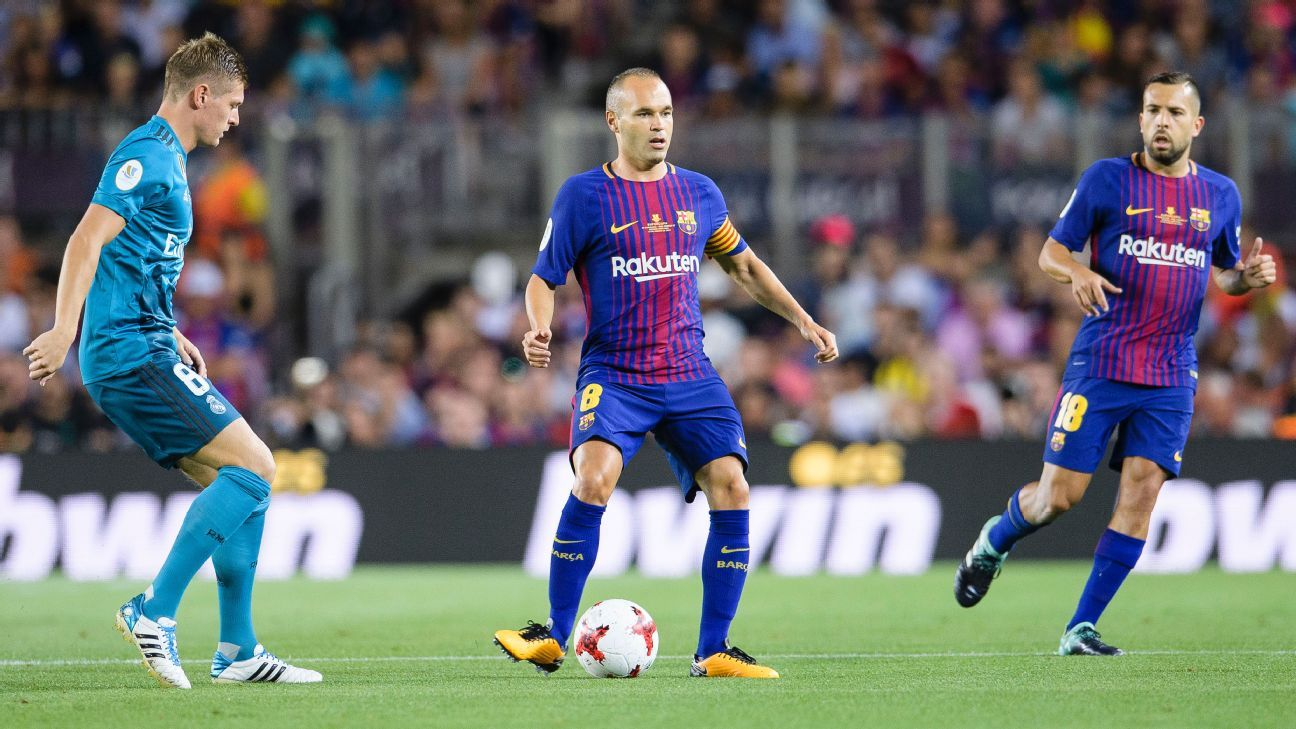 Iniesta action vs Madrid 170813