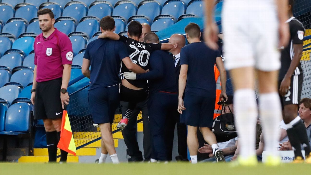 Piazon carried off vs Leeds 170815