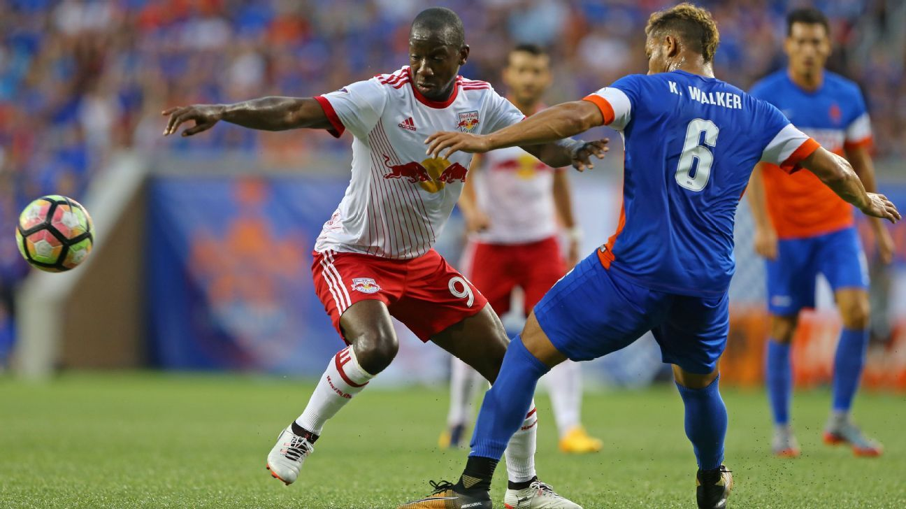 Bradley Wright-Phillips scored twice as the New York Red Bulls beat FC Cincinnati in the USOC.