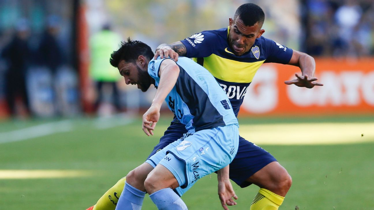 Matias Sanchez & Carlos Tevez
