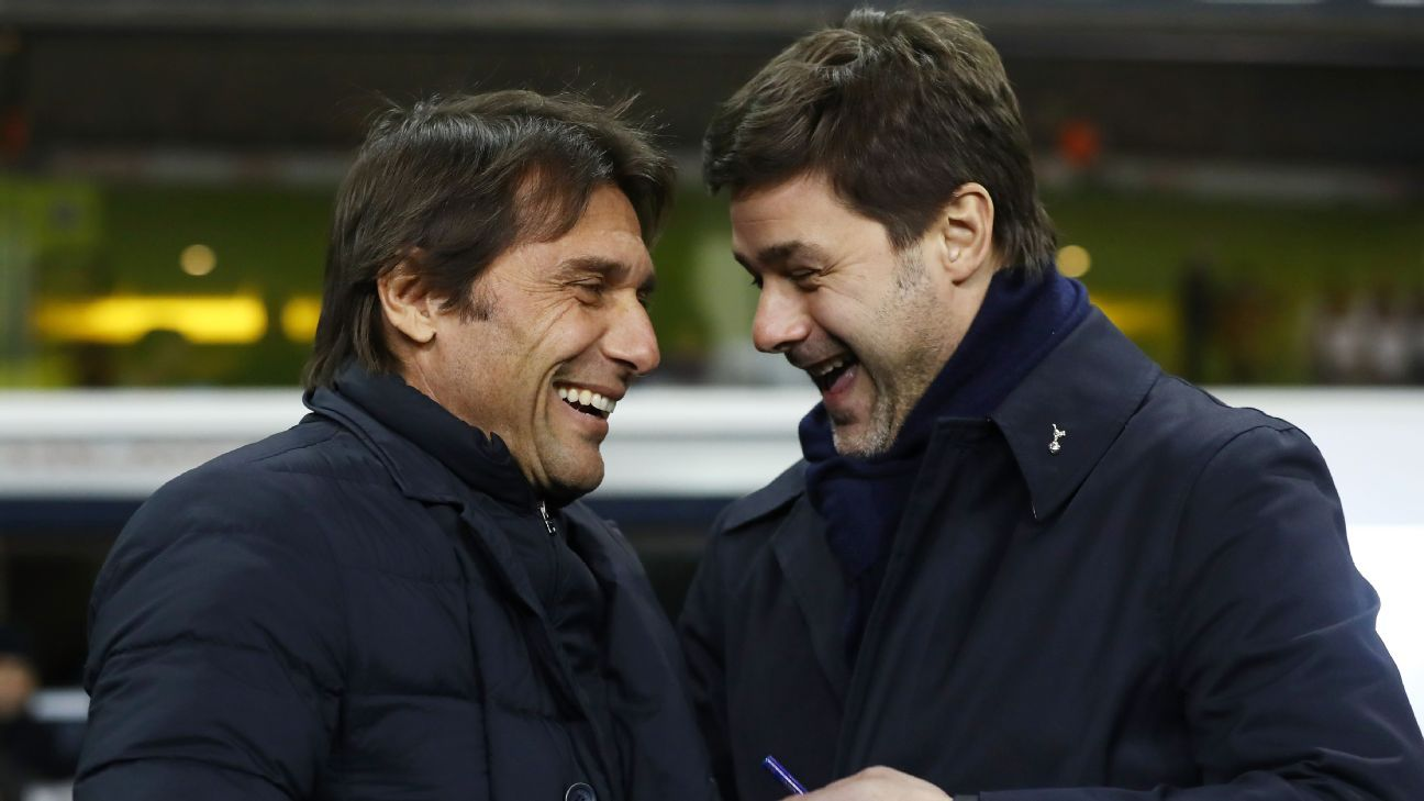 Mauricio Pochettino has been linked with the Chelsea job amid doubts over Antonio Conte's future.