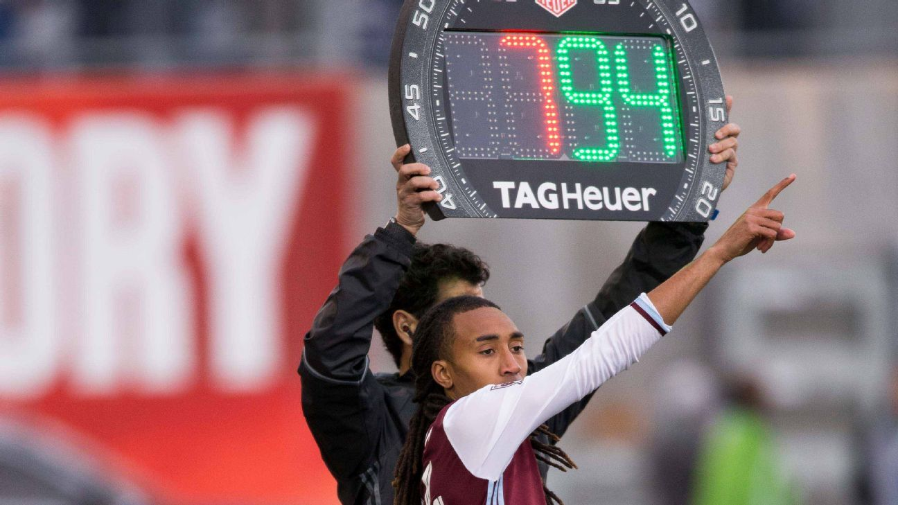 MLS to allow fourth substitute in extra time of postseason games