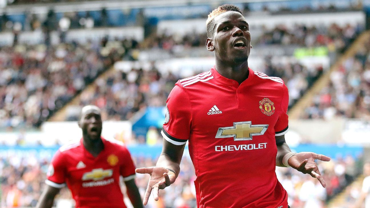 Paul Pogba Will Win Ballon Dor In Next Five Years Manchester Uniteds Anthony Martial Espn Fc