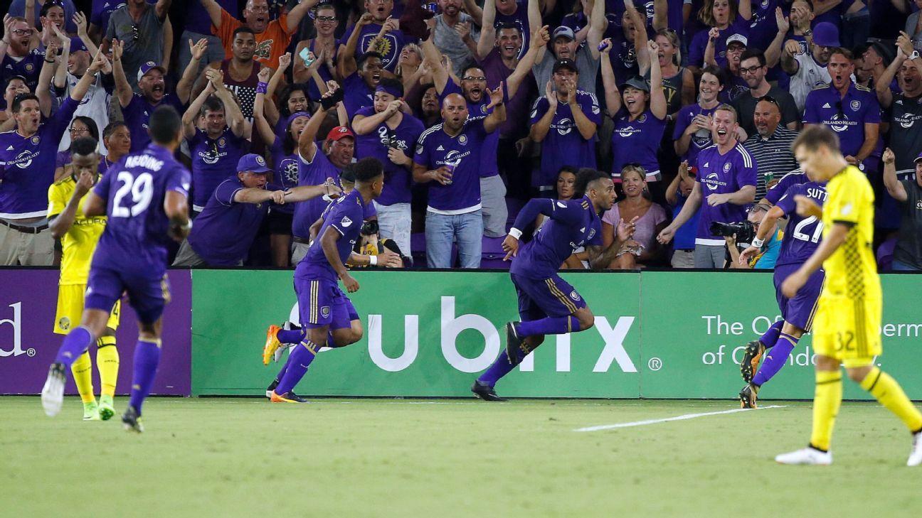 Orlando City celebrates