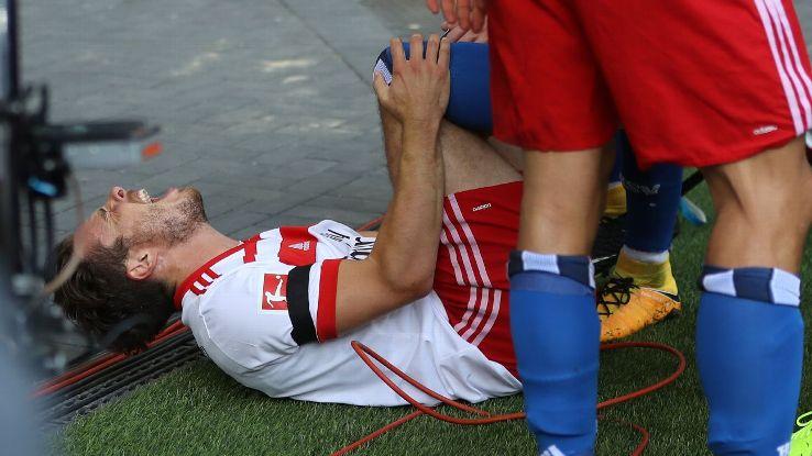 Nicolai Muller Hamburg injured