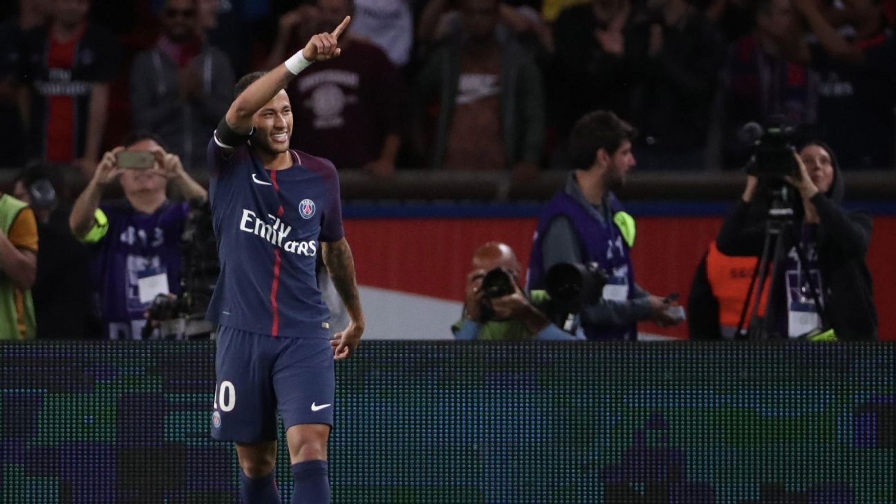 Neymar capped another dazzling PSG display with a brilliant individual goal on Sunday.
