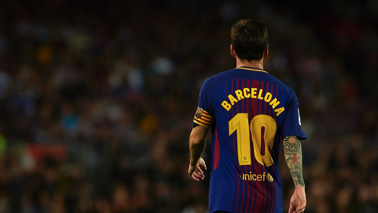 Man City circle with Leo Messi 'seriously considering leaving' Barca