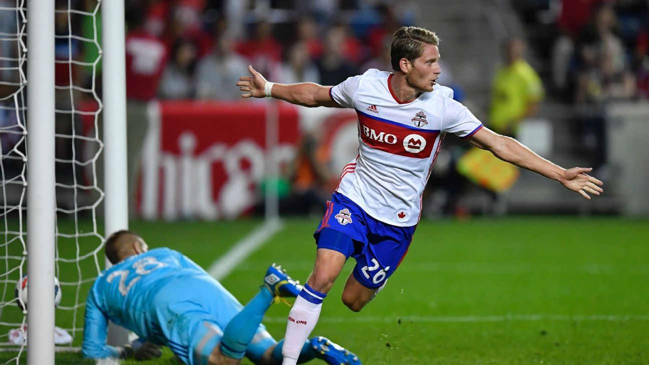 Chicago Fire sign Nicolas Hasler from Toronto FC with Jon Bakero heading the other way