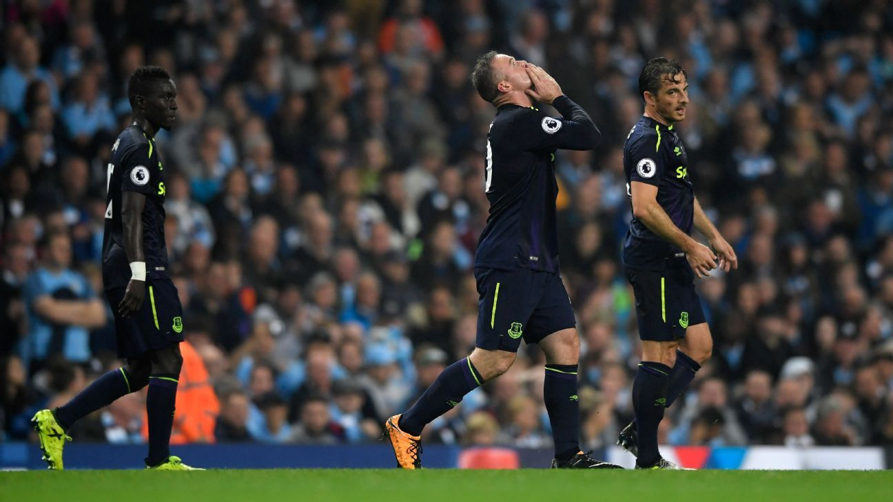 Wayne Rooney reached a Premier League milestone against Manchester City.