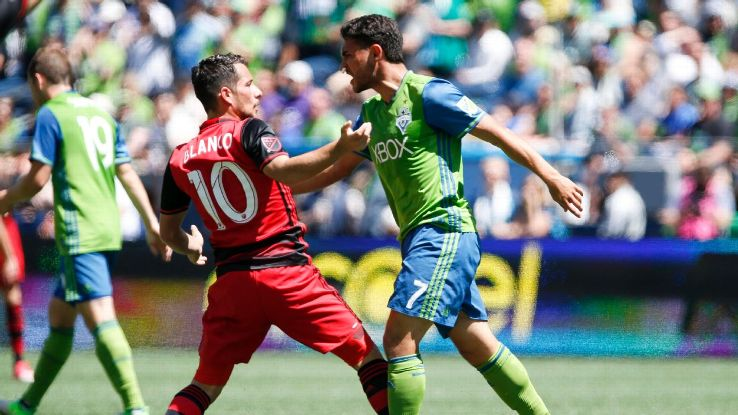 Sebastian Blanco and Cristian Roldan