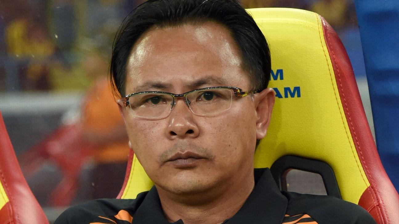 Malaysia coach Ong Kim Swee at 2017 SEA Games