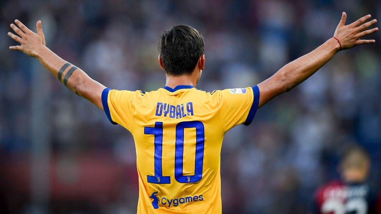 Paulo Dybala says No. 10 Juventus shirt bringing luck ...