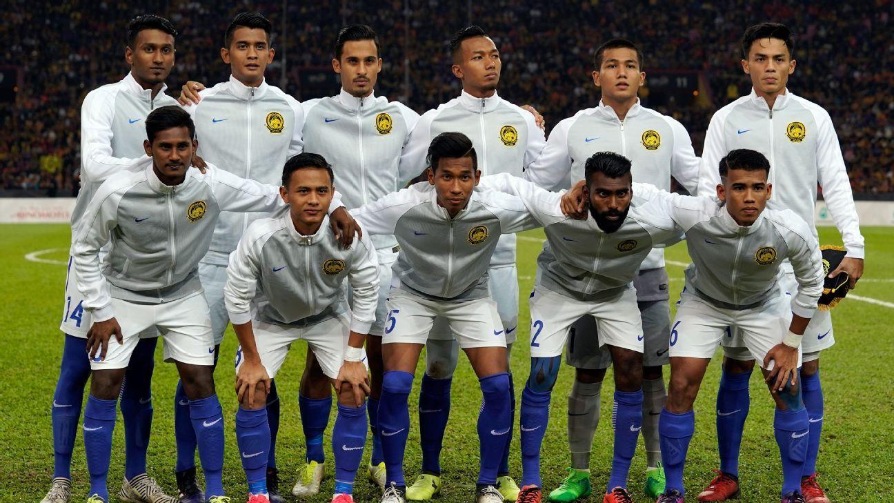 Malaysia team v Indonesia SEA Games semi