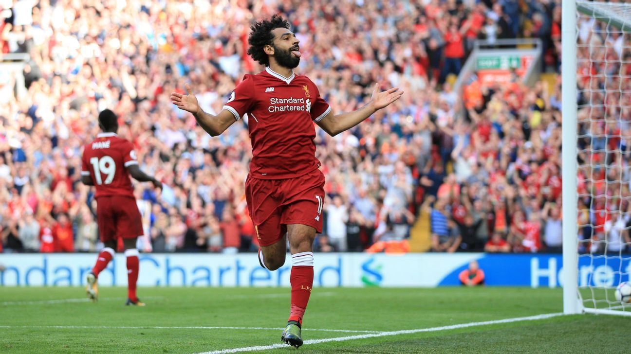 Mohamed Salah has had a fine debut season with Liverpool.