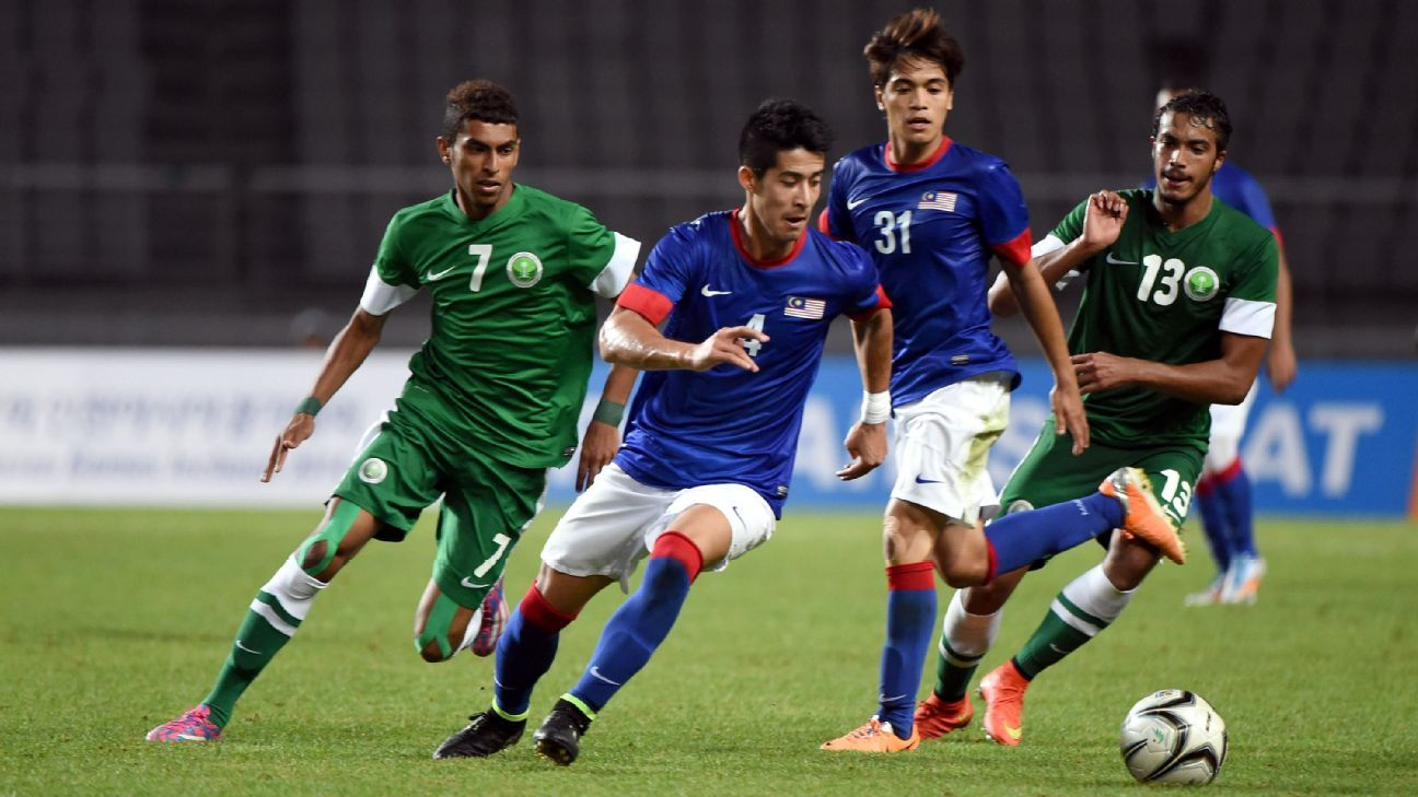 Malaysia midfielder Brendan Gan in 2014 Asian Games