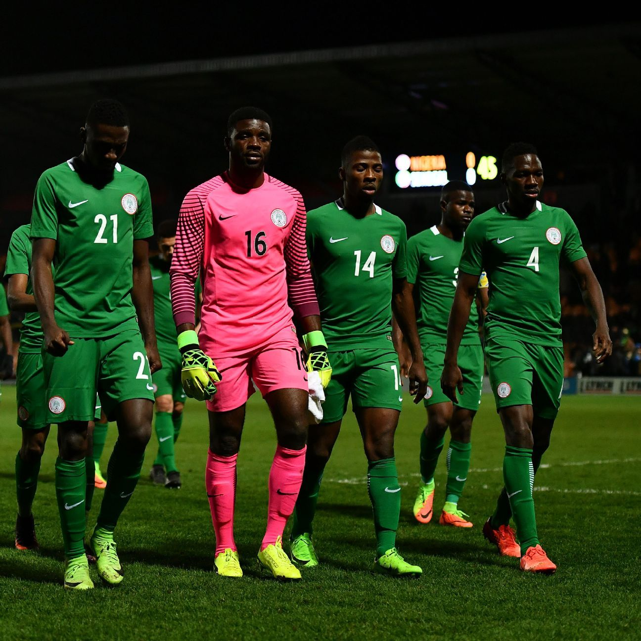 The Nigeria team will need to stand tall in their back-to-back FIFA World Cup qualifiers against Cameroon -- starting at home on Friday.