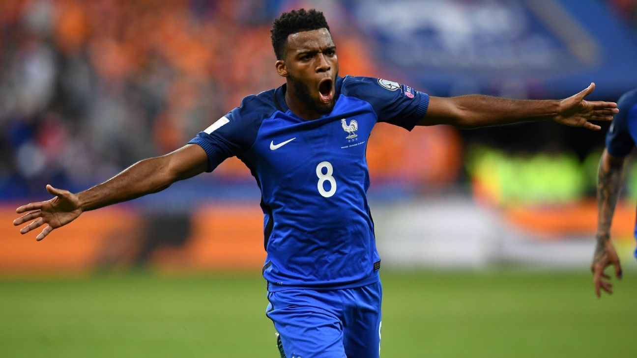 Lemar produced a stunning display for France.