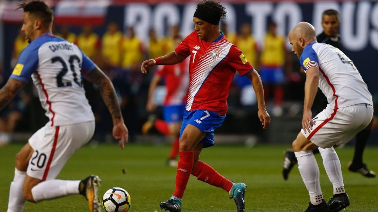 Bradley action vs Costa Rica 170901