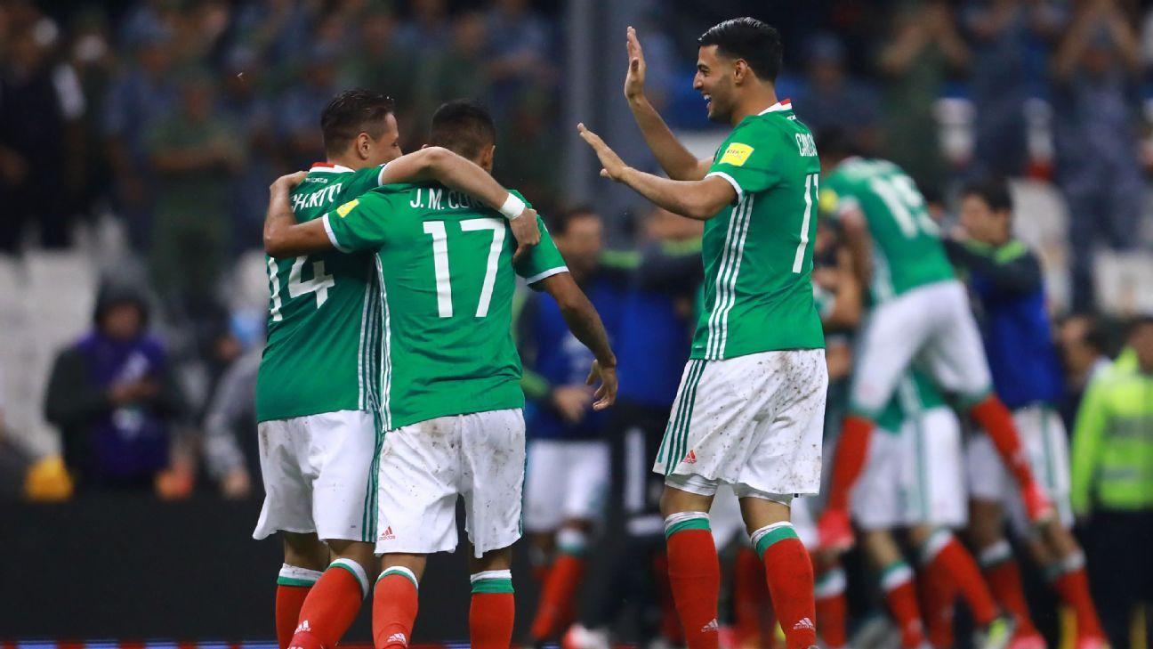 Mexico celeb vs Panama 170901
