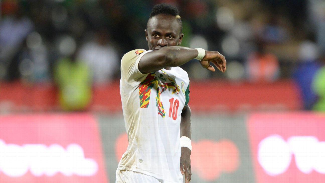 Sadio Mane of Senegal